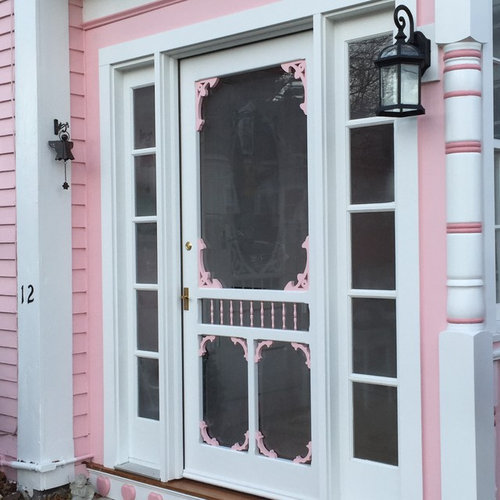 Custom Victorian Screen U0026 Storm Door Model By Vintage Doors   Screen Doors
