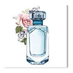 """Doll Memories and New York Perfume"" Canvas Art Print, 40x40 cm"