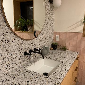 Bathroom: ROCKYROAD Terrazzo