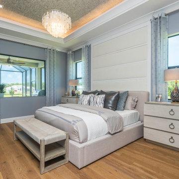Preserve at Bent Pine - Kauai Model Master Bedroom