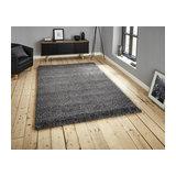 Loft 01810A Grey Rectangle Plain/Nearly Plain Rug 160x230cm