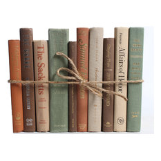 Decorative Books, The Modern Earthtone ColorPak