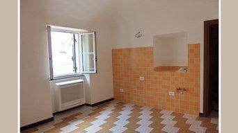 intervento su appartamento vuoto allestito per la vendita