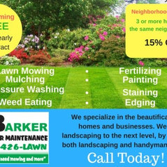 Barker S Outdoor Maintenance Ronda Nc Us