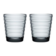Aino Aalto Tumbler Collection, Gray Set of 2, 7.75 oz