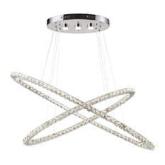 Blair Chandelier, Chrome