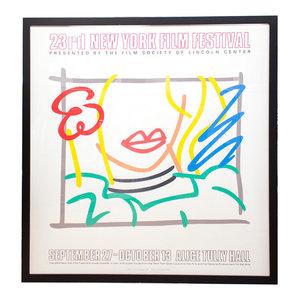Tom Wesselmann-Seascape-1991 Serigraph