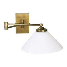 Art Nouveau Style Brass Wall Light