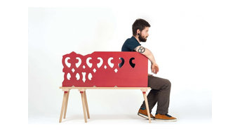 Banc lignée Fabrication Atelier FABAR design by Riehling Philippe