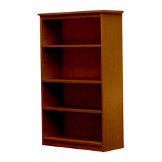 Lexington Bookcase, 12x30x48, Colonial Maple