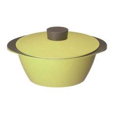 - EAトCOシリーズ Nabe [ライムグリーン] アルミ調理鍋 - 卓上鍋