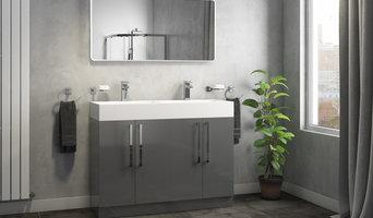 Alpina 1200mm Double Vanity Unit & Basin - Gloss Grey