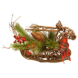 Rustic Holiday Accents And Figurines by National Tree Company