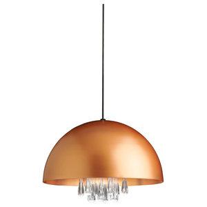 Medusa Pendant Light, Copper