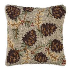 "Northwoods Cone 18"" Pillow"
