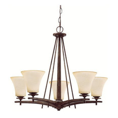 Kichler-Lighting Ashton Chandelier 5-Light, Canyon Slate