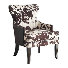 Angus Accent Chair, Brown