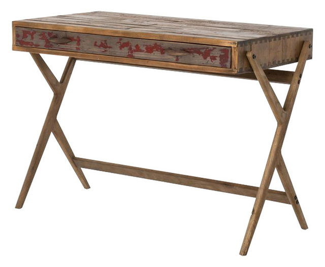 pine office desk. Mid-Century Reclaimed Pine Home Office Desk K