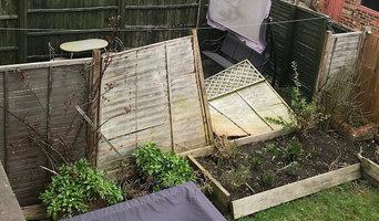 Storm Damaged Fencing Repair