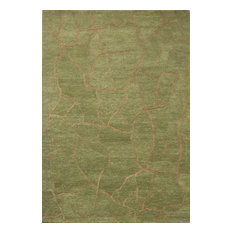 "Meva Rugs Madison MA01 1'6"" Sample Green Rug"