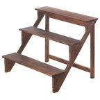 Wooden Steps Stand