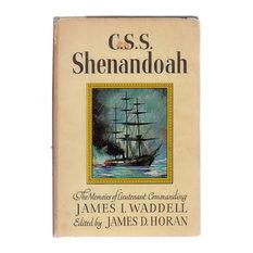 Decorative Book, C. S. S. Shenandoah, The Memoirs