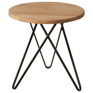 Jabo Furniture Paris Side Table, Natural Oak