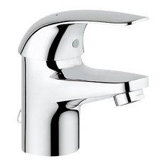 """GROHE US - Euroeco Monomando de lavabo 1/2"""" 35mm cadenilla S - Grifos para lavabos de baño"""