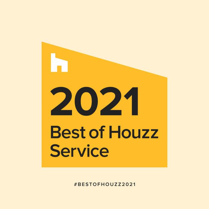 2021 Houzz Service Award