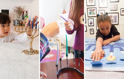 How 3 Families Celebrate Hanukkah at Home