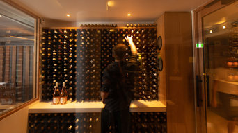 Climate Controlled Wine Cellar at Season Restaurant