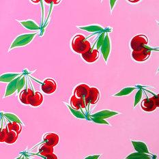 - hule mexicano modelo cereza rosa - Telas para exteriores