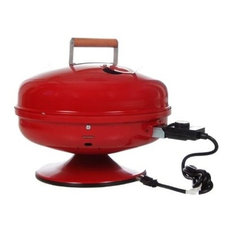 Lock 'N Go Electric Grill, Red
