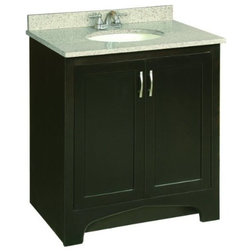 Trend Transitional Bathroom Vanities And Sink Consoles by BuilderDepot Inc