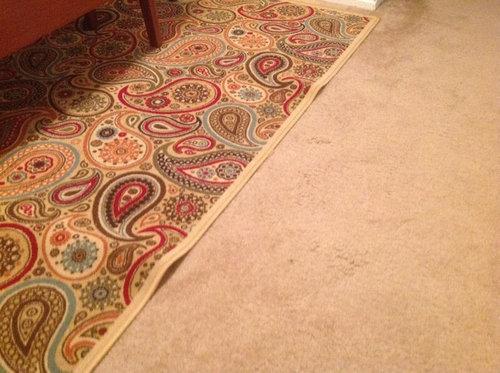 Rug Keeps Bunching Up On Carpet Area Rug Ideas