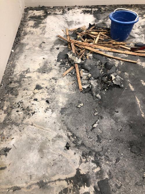 Is this asbestos under my carpet?