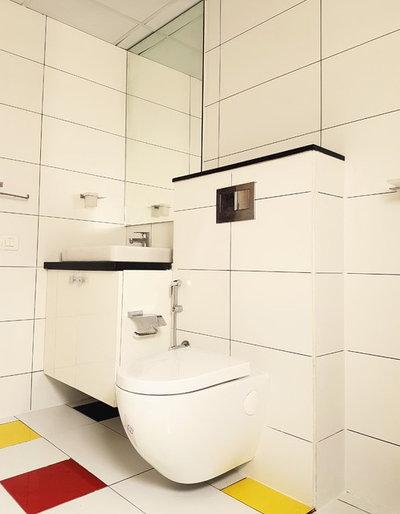 Modern Bathroom by Artis Interiorz Pvt. Ltd.