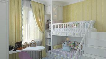 Children's two girls 11.5 m2