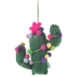 Contemporary Christmas Ornaments by Felt so good