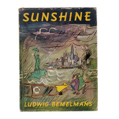 Decorative Book, Sunshine, A Story about City of New York