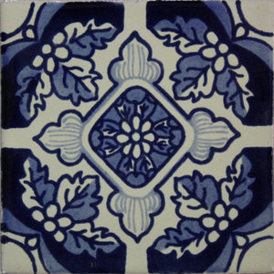 2x2 Cobalt Blue Ceramic Tile