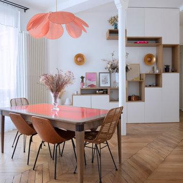 HAUTEVILLE - Rénovation d'un appartement familial de 135m²