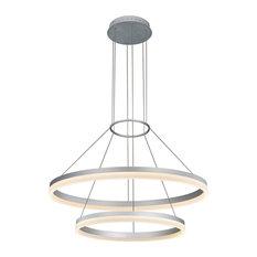 Funky chandeliers houzz mod merlin 2 tier led chandelier chandeliers aloadofball Choice Image