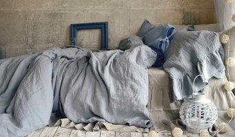 Light Grey Stonewashed Linen Bedding