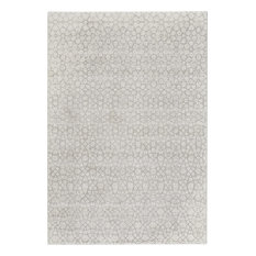 """Capel Rugs - Capel Channel Channel Silver 7'10"""" x 10'10"""" Rug - Area Rugs"""