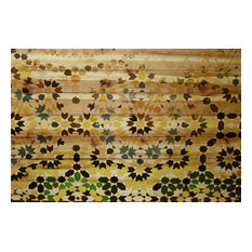 Tangier Painting Print on Natural Pine, 100x70 cm
