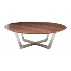 Nuevo - Dixon Coffee Table Walnut - Coffee Tables