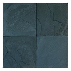 Gauged Premium Black Slate Classic Slate Tile, Set of 50