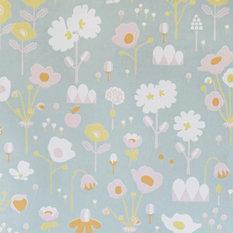 Bloom Wallpaper, Grey