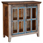 Metal Display Cabinet - Industrial - Buffets And Sideboards - by ...
